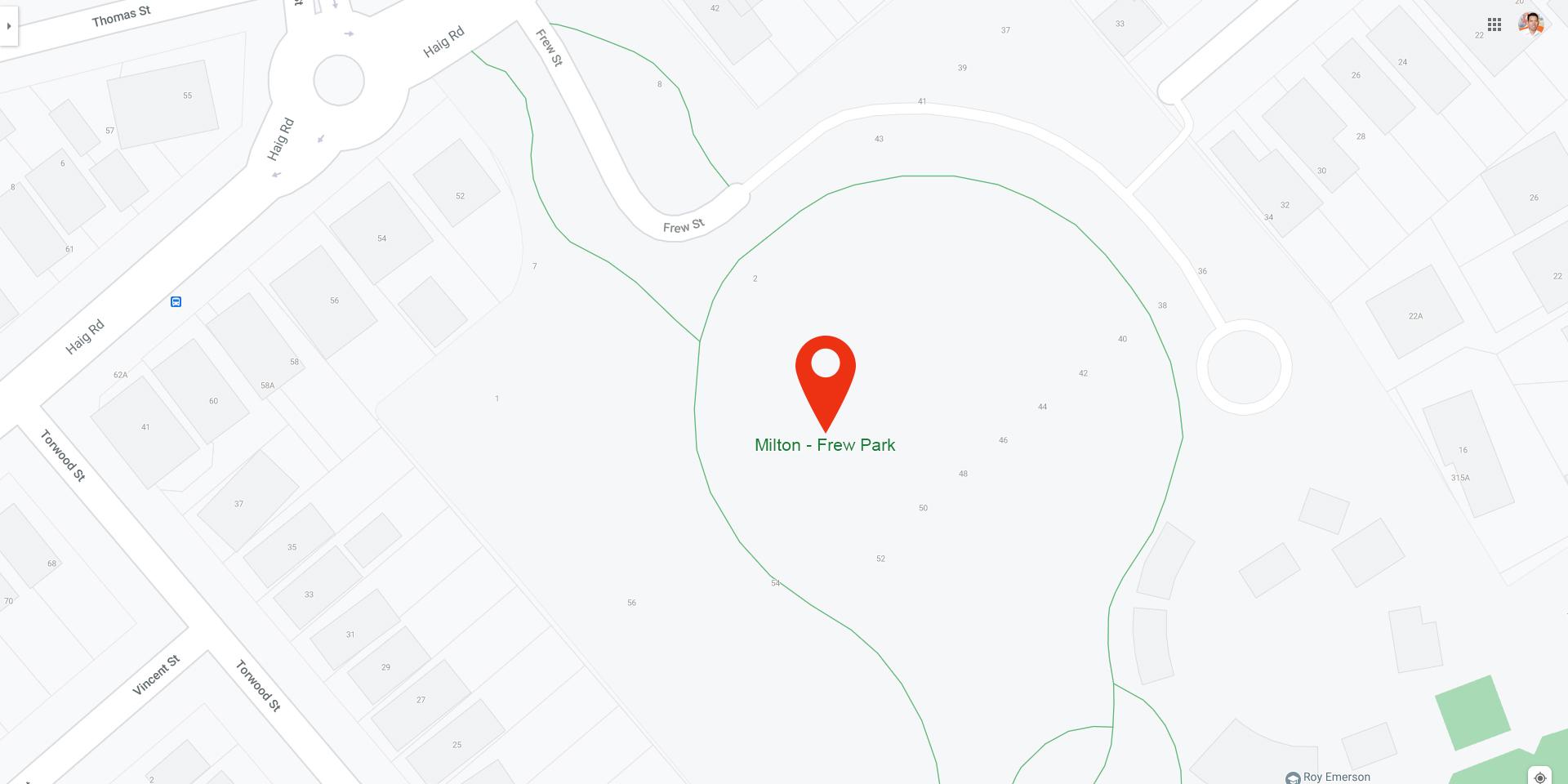 Milton - Frew Park
